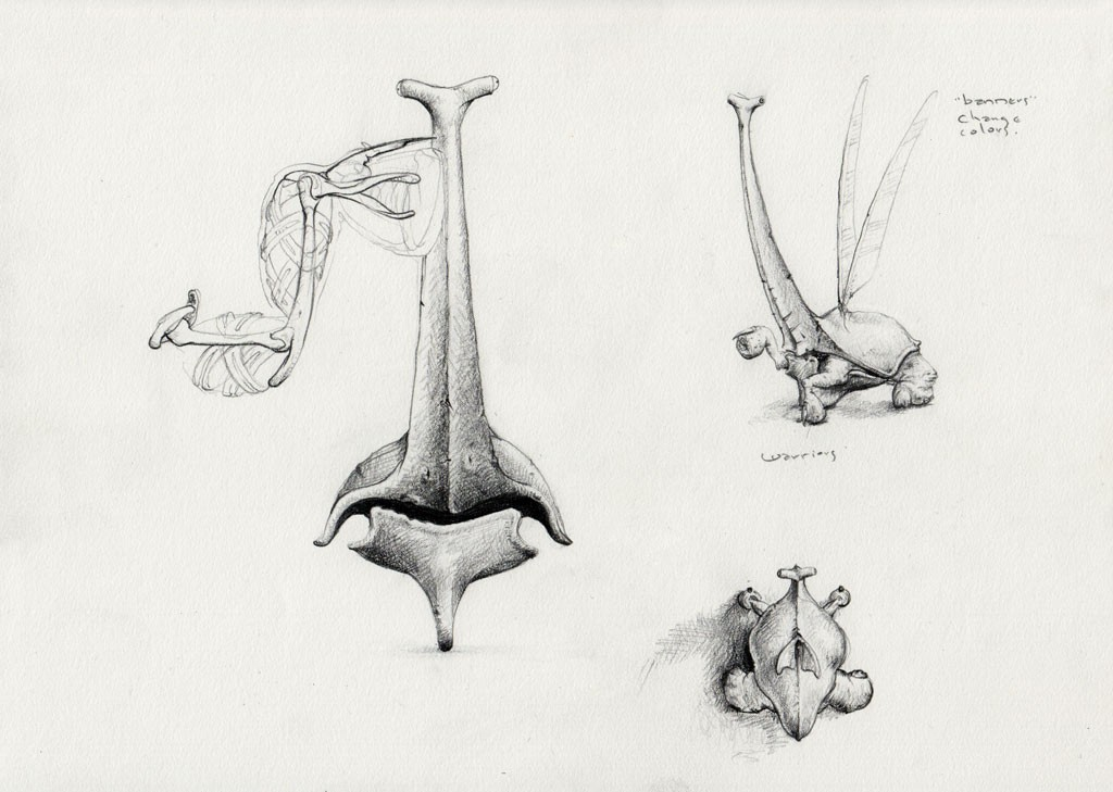 A warrior's front hydraulic limbs, shell, and an individual