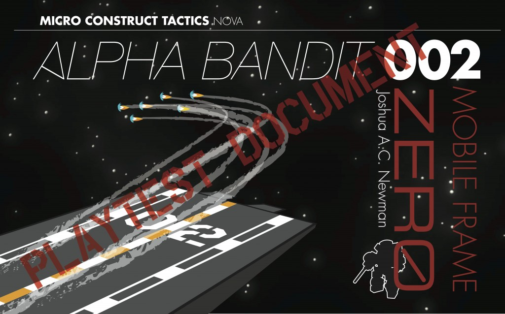 Alpha Bandit Metatopia 2013 playtest cover