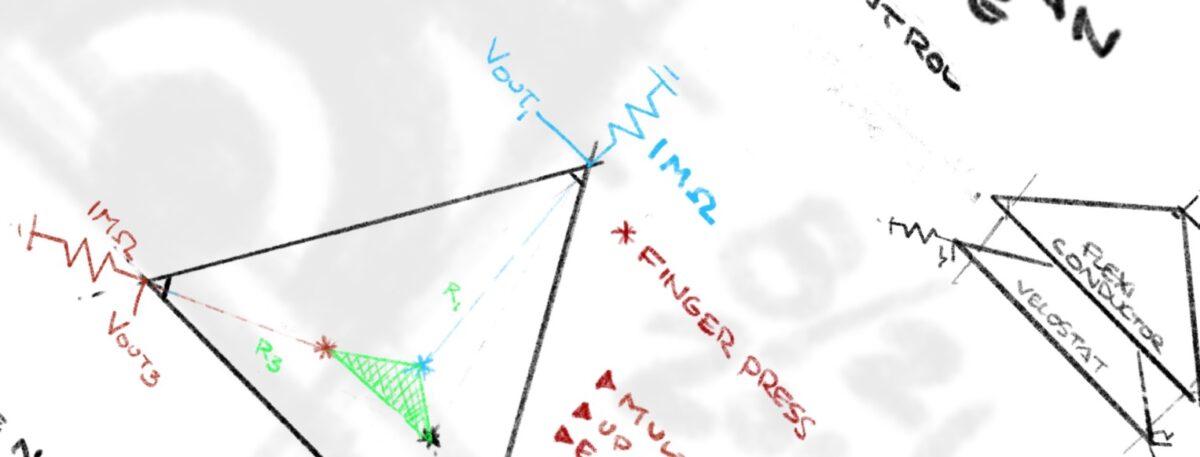 3-Way Planar Potentiometer